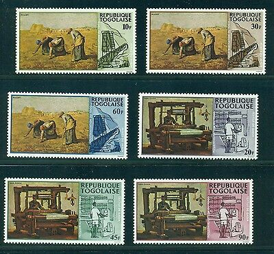 Togo 1968 Agriculture Textiles  MNH