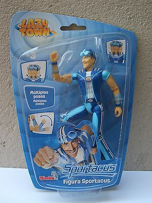 Lazy Town Sportacus New & Sealed Multiple Poses Simba Toys