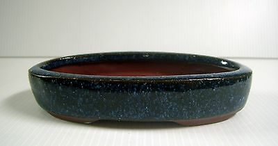 Chinese porcelain flower bonsai pot shallow pot glazed new cb3 u