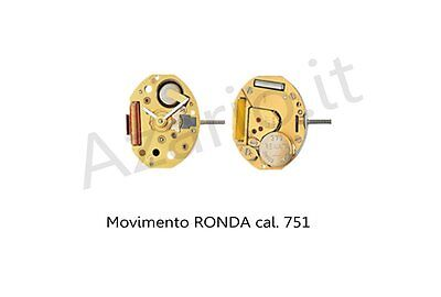 Movimento al quarzo Ronda 751 movement quartz for watch orologi Swiss