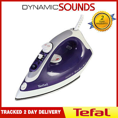 Tefal Maestro FV3764 2200W Stainless Steel Soleplate Steam Iron In Purple