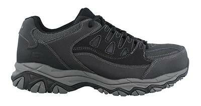 Skechers Holdredge Steel Toe Lace Up  Shoe Mens Work And Uniform Shoes