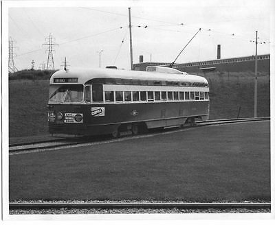 7AA232 1940/50s RP TORONTO TRANSPORTATION COMMISSION STREETCAR #4730 LONG BRANCH
