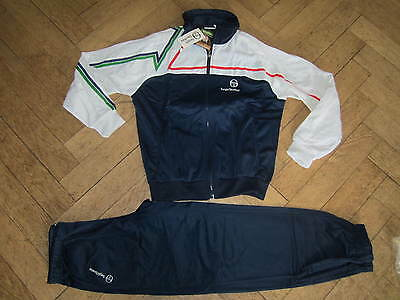 vintage Sergio Tacchini Tracksuit Ilford Sz.M 80s casual terrace BNDS Wilander