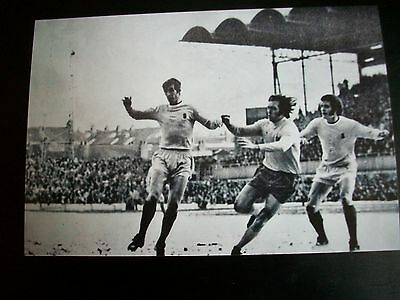 """WEST BROMWICH ALBION at COVENTRY CITY  Jeff Astle  1960s  6""""x4"""" REPRINT"""