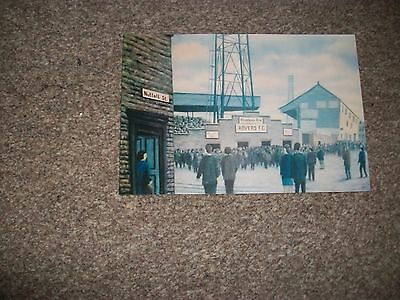 """BLACKBURN ROVERS EWOOD PARK Painting outside Ground 1960s   6""""x4""""  REPRINT"""