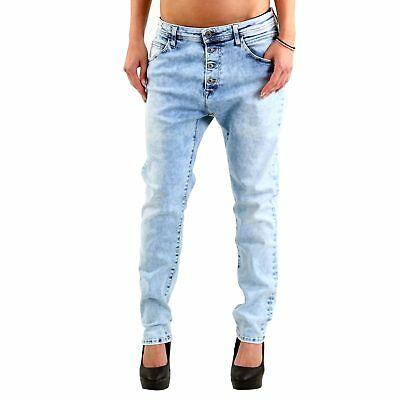 MET Damen Jeans Hose Denim fix stretch Jel Light Blue E053878 Größe 24