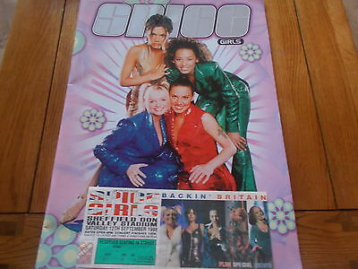 Spice Girls Spiceworld Tour Programme And Ticket1998