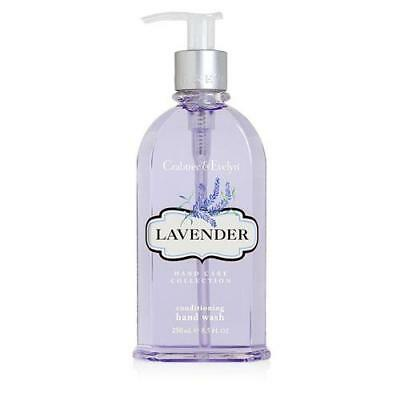 Crabtree & Evelyn Lavender 250ml Hand Wash Pump Dispenser FREE P&P