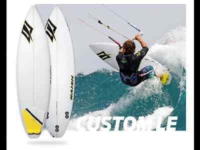 Naish Cutsom Le 5'10 Surfboard Kitesurfing Kite Surf Board New 2014 Wave