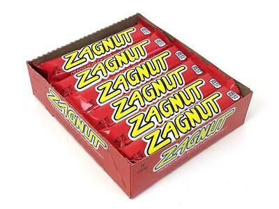 Hershey 18 Count Box ZAGNUT 1.51 oz Candy Bars Peanut Butter & Toasted Coconut