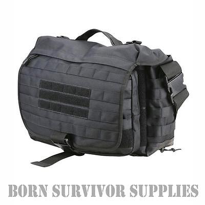 OPERATORS MOLLE GRAB BAG BLACK 25ltr Tactical Messenger Shoulder Satchel Laptop