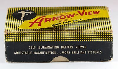 Vintage Arrow-View 35mm Slide Viewer With Box