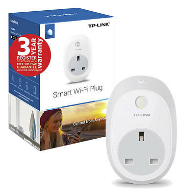 TP-Link Wi-Fi Smart Plug HS100 Works with Alexa, Control Your Devices Anywhere