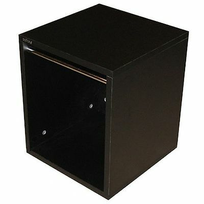 "Sefour Vinyl 12"" LP Record Carry Storage Box (small, black)"