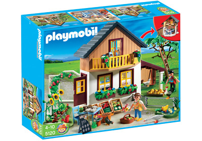 NEW and COMPLETE Playmobil Country - Farm House with Market 5120