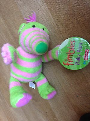 fimble soft toy Fimbles Pink And Green Baby Pom Fimbles Fisher Price