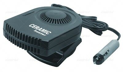 New Ceramic Cab Heater 12V Dc Socket 150W Polaris Rzr Ranger Commander