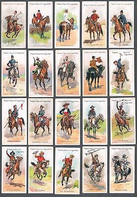 1905 John Player & Sons Riders of The World Tobacco Cards Complete Set of 50