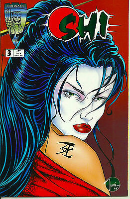 1994 Shi #3 Nm+ 9.6! William Tucci Art High Grade - Cgc It!