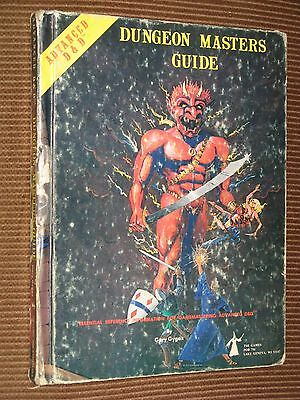 Dungeon Masters Guide 1st Edition 6th print EXC pps AD&D Advanced D&D TSR rpg