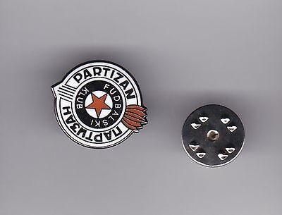 FK Partizan ( Serbia ) - lapel badge butterfly fitting