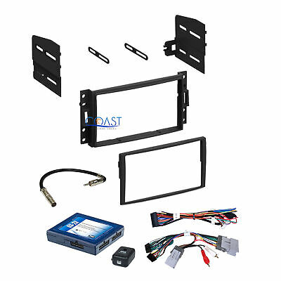 Car Stereo Dash Kit Onstar Interface Harness for 05-up Chevrolet Pontiac Saturn