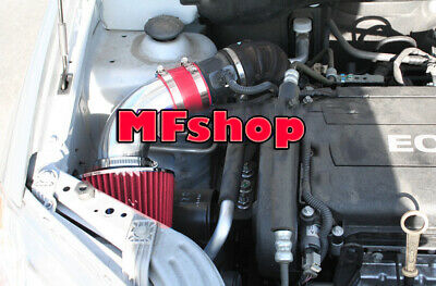 RED For 2009-2010 Chevy Aveo Aveo5 1.6L L4 Air Intake System Kit + Filter