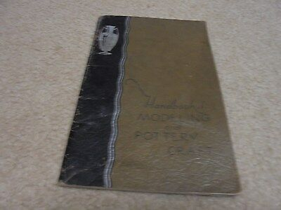 Vintage 1931 Teacher's Art Booklet Modeling and Pottery Craft
