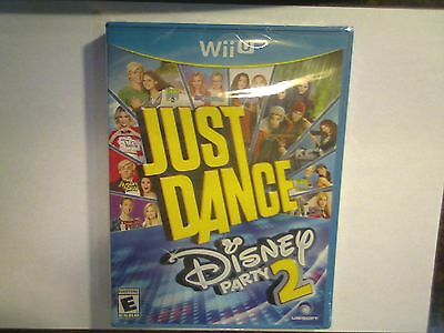 Just Dance Disney Party 2 video game (Nintendo Wii U) BRAND NEW SEALED