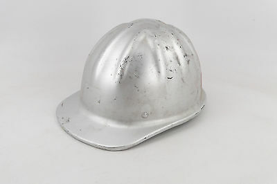Vintage McDonald Aluminum Hard Hat, Mine Safety Appliances Co., with Liner