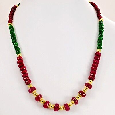 """Multi Color (Dyed) Jade Lobster Clasp Necklace 17"""" w 2"""" extension (JA235)a"""