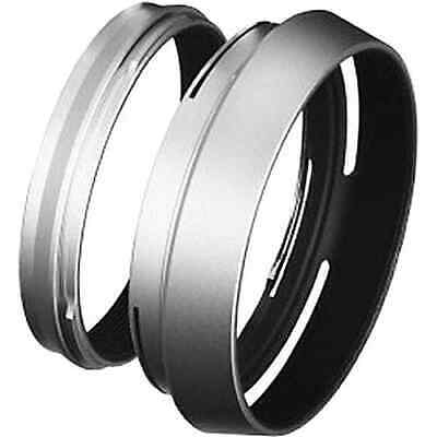 Fujifilm LH-X100S Silver Lens Hood and Adapter Ring for X100/X100S (75