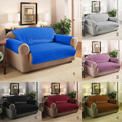 Removable 2-Seater Sofa Armchair Couch Cover Stretchy Settee Slipcover Lounge