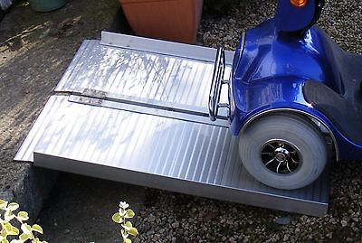 Mobility Scooter Wheelchair Folding Suitcase Ramp 3ft 90cm Long VAT-Relief Price