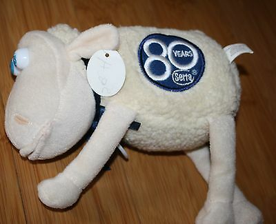 W Tag SERTA PLUSH SLEEP NUMBER 80 Anniversay Curto Toy Count Sheep Instead tag