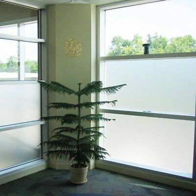 Frosted Window Film Privacy Glass Door Vinyl Tint Self Adhesive Various Sizes