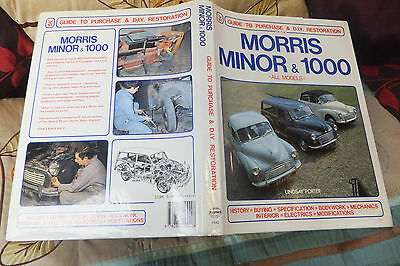 Haynes Morris Minor / 1000 Guide To Purchase , Restoration Book  Vgc