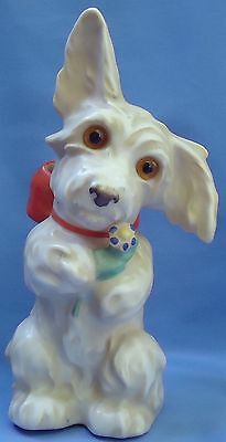 Silky Skye Scotty  Terrier Goebel Germany Perfume Lamp 8""