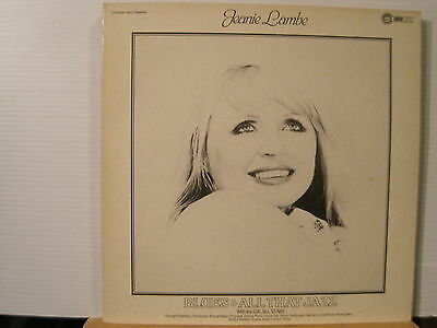 Jeanie Lambe - All That Jazz- Vinyl Lp  Free UK Post