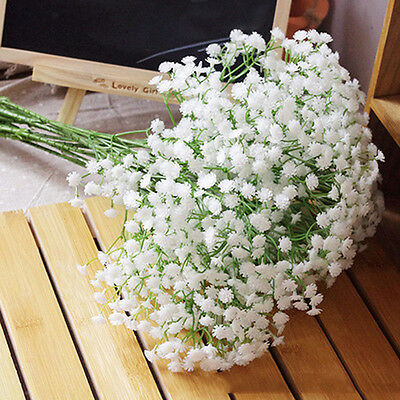 1 Head Romantic Baby's Breath Gypsophila Silk Flower Party Wedding Home Décor