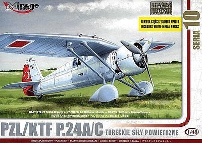 MIRAGE HOBBY® 48105 PZL/KTF P.24A/C Turkish Air Force in 1:48