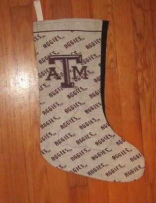 Texas A&M - Aggies Tapestry Fabric Christmas Stocking - 24""