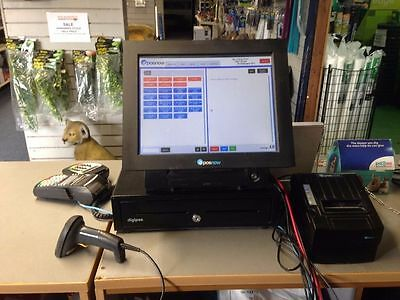 EPOS Now Till - With Cash Drawer, Printer & Terminal. Good Condition - Low Price