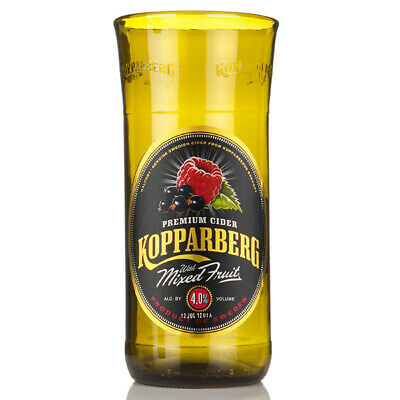 Recycled Kopparberg Bottle Pint Glass 20oz / 568ml | Upcycled Green Eco Gift