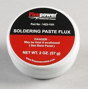 Firepower 1423-1101 Soldering Flux, Paste, 2 Oz.