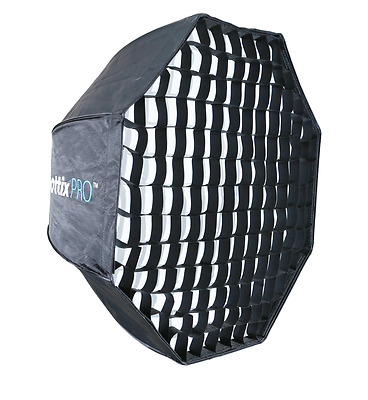 Phottix Pro Easy-Up HD Umbrella Octa Softbox with Grid - 80cm