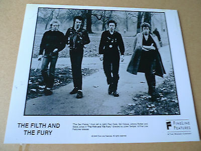 "SEX PISTOLS Original FILTH & THE FURY Promotional Photograph 8"" x10"" 2000"