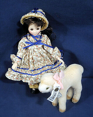Steiff Mary Had Little a Lamb 0145/12 Limited Edition No. 1025 Original Tag Doll