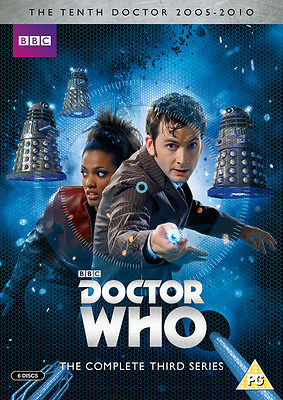 Doctor Who: The Complete Third Series DVD Box Set NEW